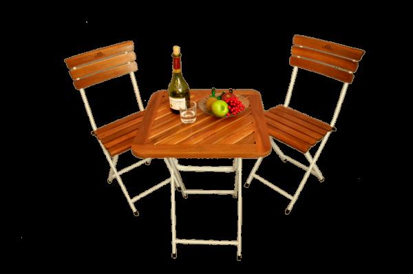 bàn ghế gỗ cafe Fansipan patio