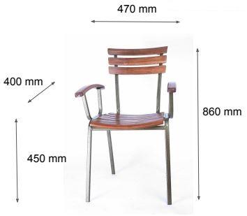 kích thước ghế Fansipan Moon